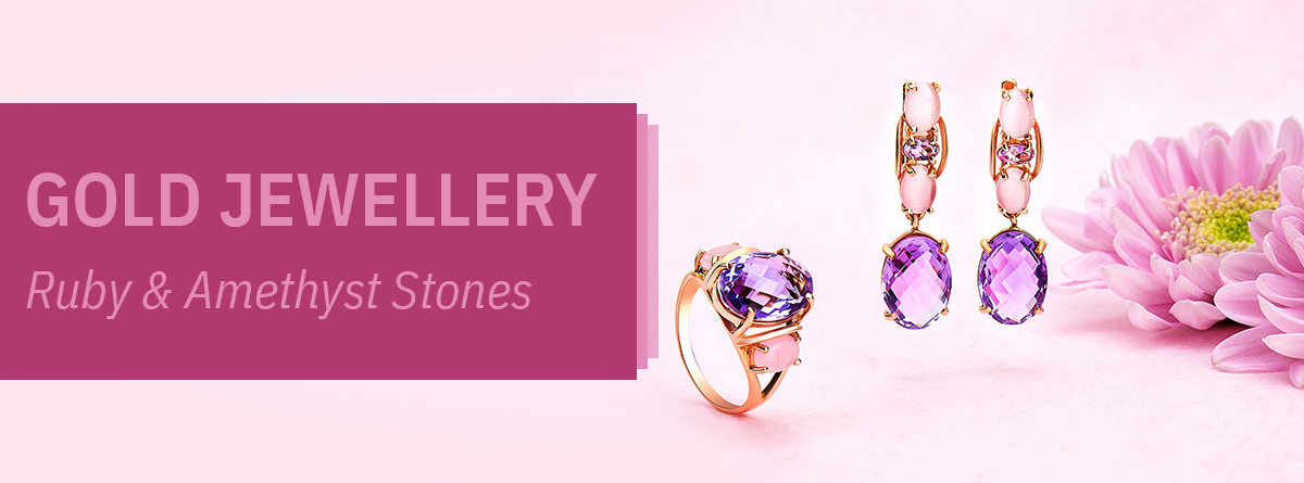 Gold Stone Jewellery