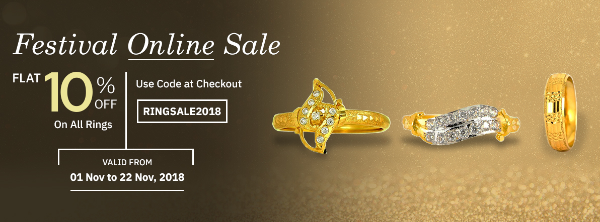 Ring discount, jewellery discount, Diwali offers
