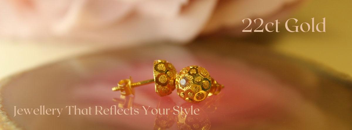 Gold jewellery 22ct