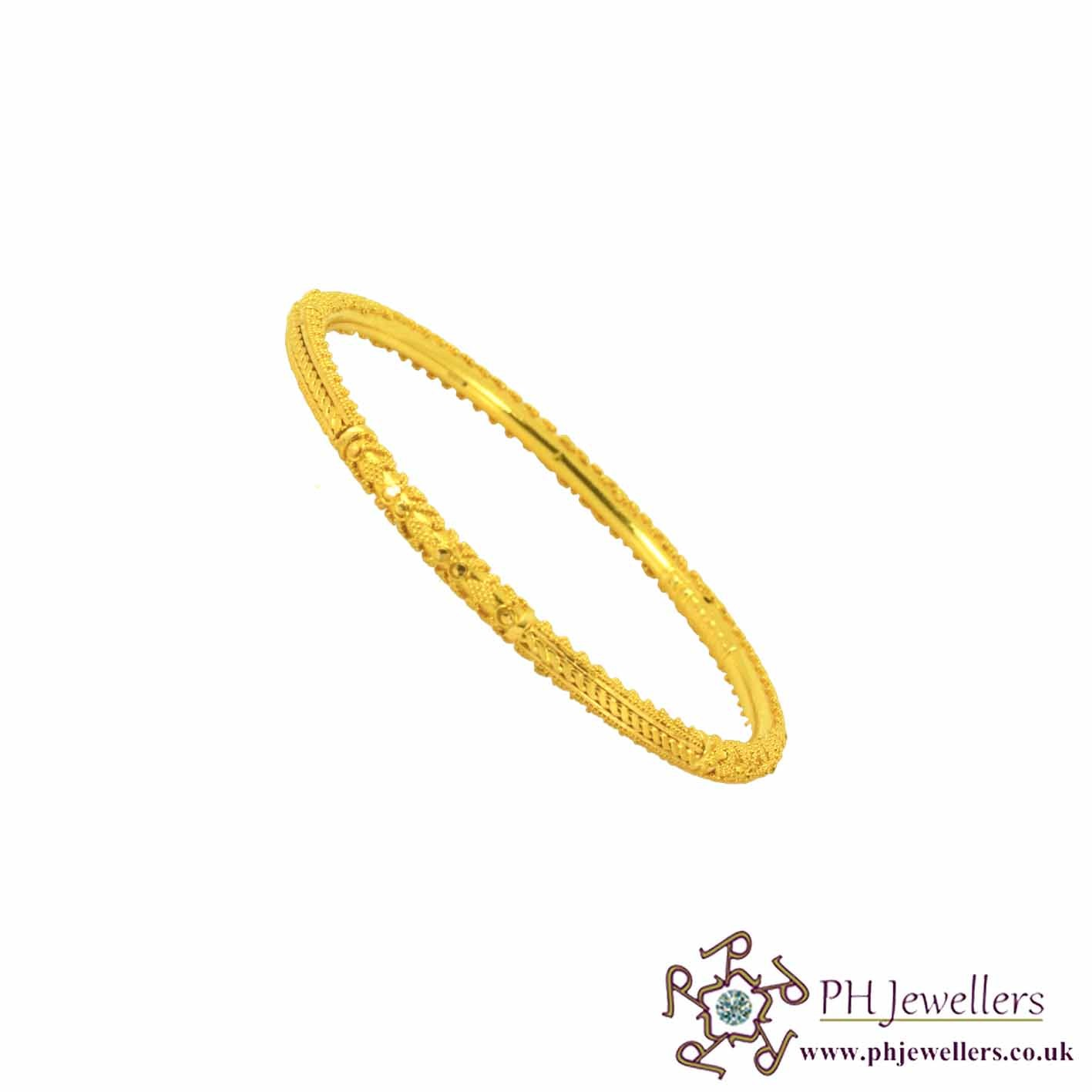 yellow bangle bangles products gold gabriel anfesas jewelers demure