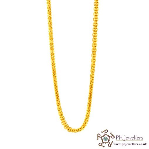 22ct 916 Hallmark Yellow Gold Chain C1