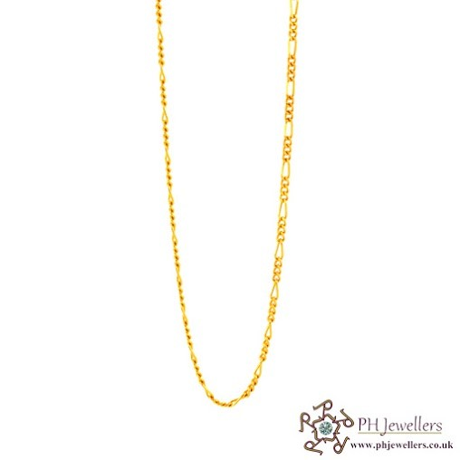 22ct 916 Hallmark Yellow Gold Chain C3