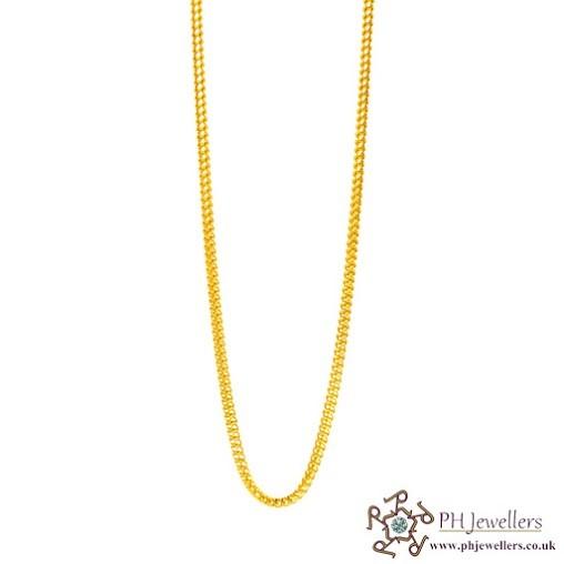 22ct 916 Hallmark Yellow Gold Chain C4