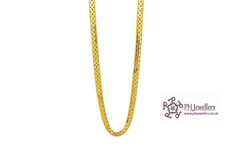 line Gold Jewellery Gold Jewellery Plain 22ct 916 Hallmark