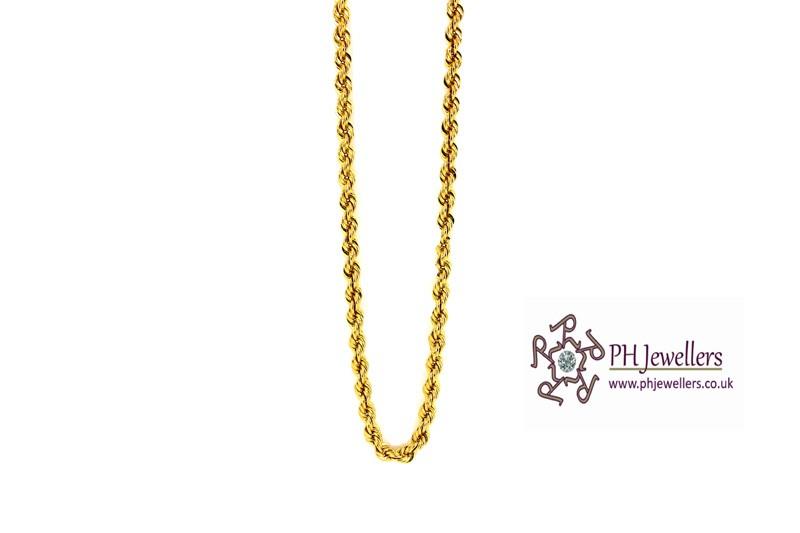 line Gold Jewellery Gold Jewellery Chain 22ct 916 Hallmark