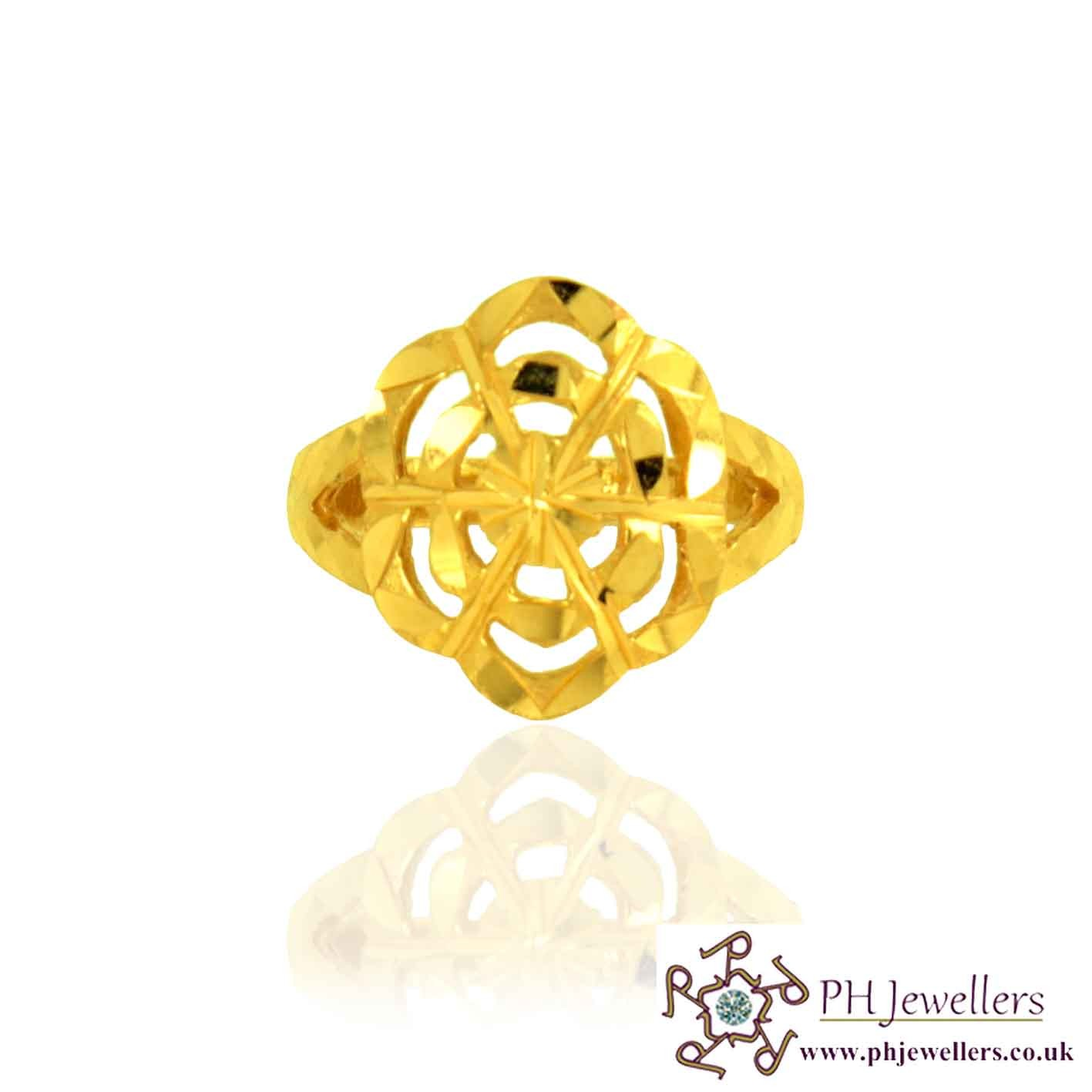 Online gold jewellery gold jewellery 22ct 916 hallmark yellow gold online gold jewellery gold jewellery 22ct 916 hallmark yellow gold size n flower ring pr28 22 carat gold jewellers mightylinksfo