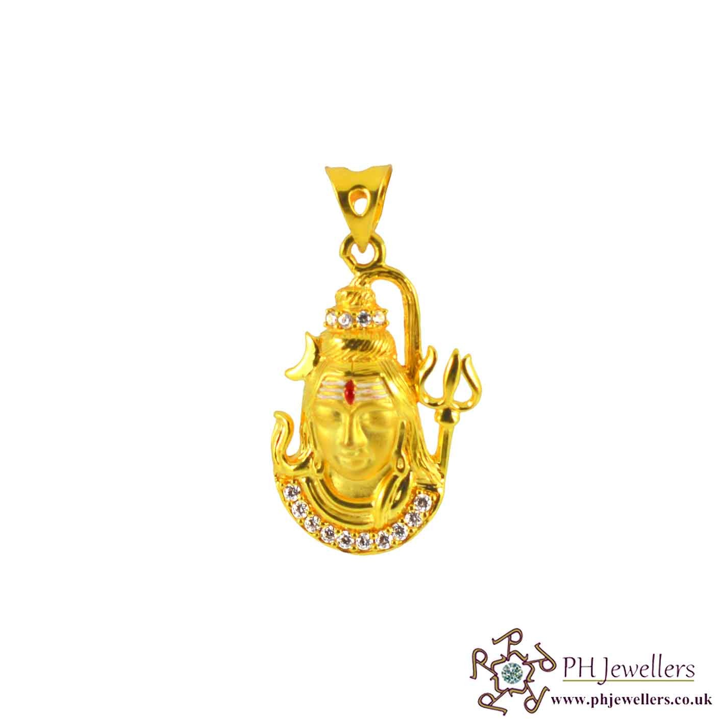 hamsa god pendant pid hand pendants gold diamond and of necklace necklaces white