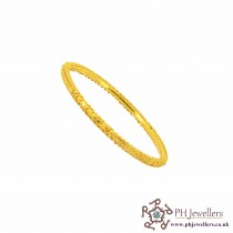 22ct 916 Hallmark Yellow Gold Bangles B8