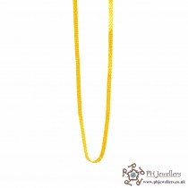 22ct 916 Hallmark Yellow Gold Flat Chain C20