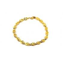 22ct 916 Indian Yellow Gold  Ladies Bracelet LB74