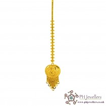 22ct 916 Hallmark Yellow Gold Headpiece Tikka TI1