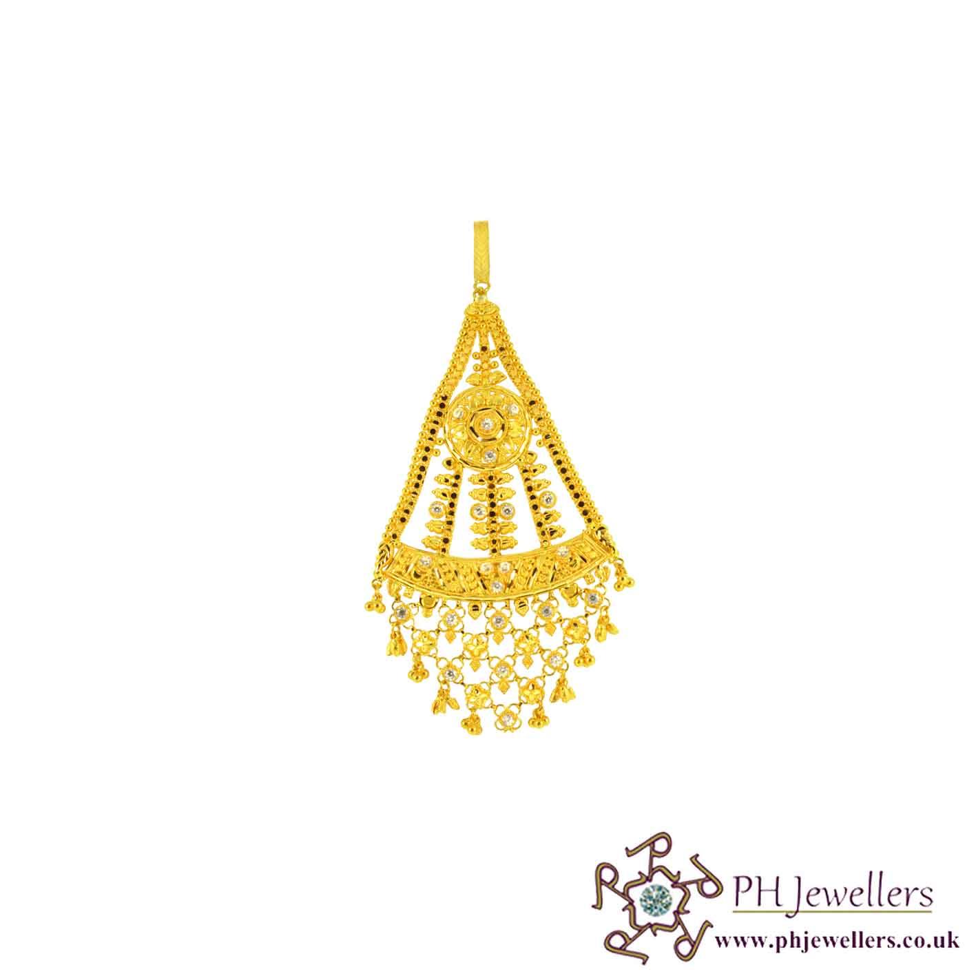 Online Gold Jewellery Gold Jewellery Jummer 22ct 916 Hallmark ...